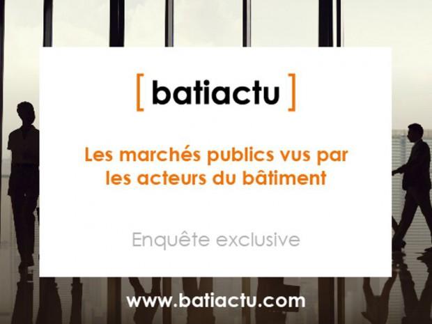 Enquête Batiactu sur les marchés publics
