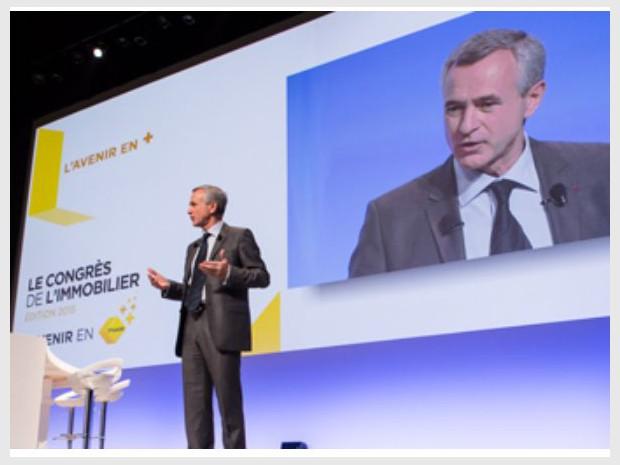 Jean-François Buet, président de la Fédération nationale de l'immobilier (Fnaim), a listé ce mardi 6 décembre 2016 en clôture de son congrès quatre axes de propositions. IM