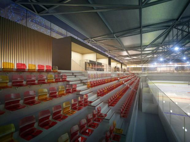 Réalisation de la patinoire de Dunkerque prévue pour 2019