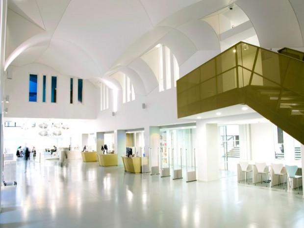 Livraison définitive du Learning Center de la faculté Paris II Panthéon Assas, Paris, 6ème, réalisé par Alain Sarfati Architecture