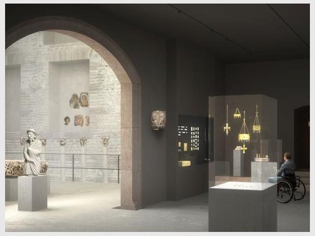 Musée de Cluny à Paris dédié au Moyen-Age