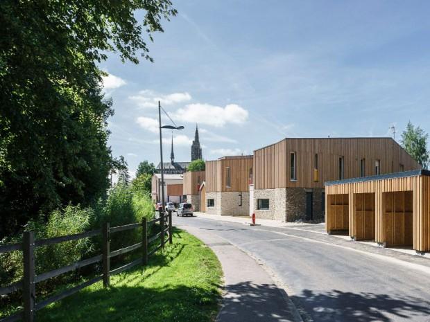 Réalisation de logements sociaux à Caudebec-en-Caux (Seine-Maritime)