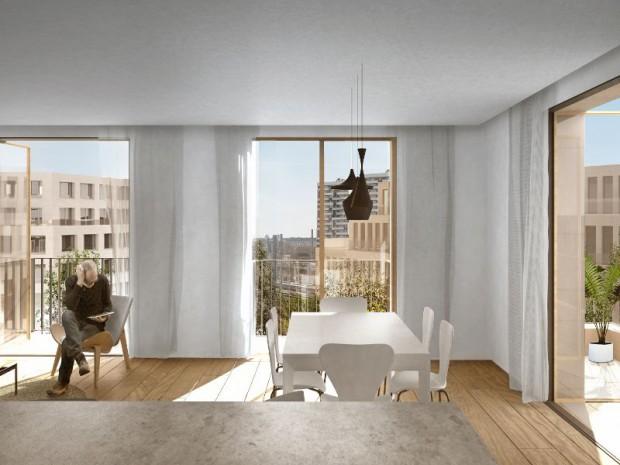 """Réaménagement du Triangle Eole Evangile dans le 19ème arrondissement de Paris, le plus vaste site du concours """"Réinventer Paris"""""""