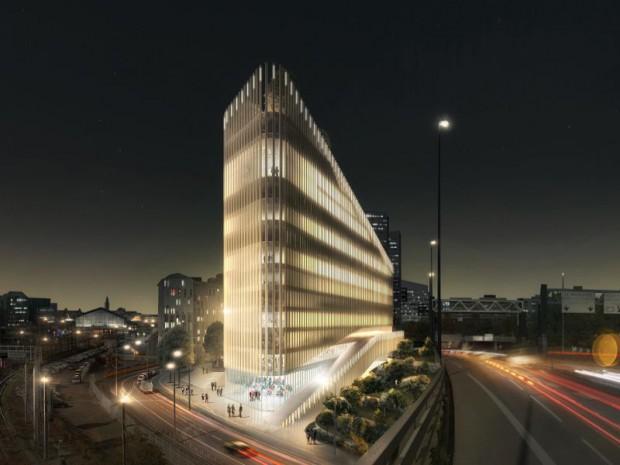 """Le promoteur Nacarat et l'agence d'architecture PCA‑STREAM dévoilent le programme de bureaux """"ShAKe"""" sur EuraLille"""