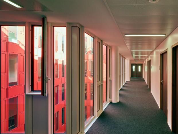 Restructuration et extension du Campus Jourdan par TVAA Thierry Van de Wyngaert et Véronique Feigel