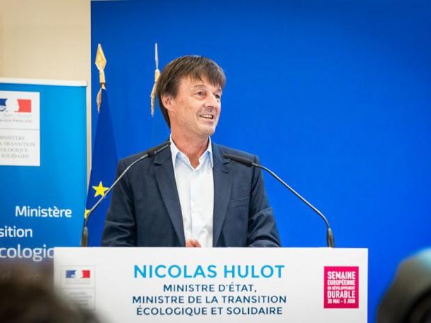 Nicolas Hulot,ministre de la Transition écologique