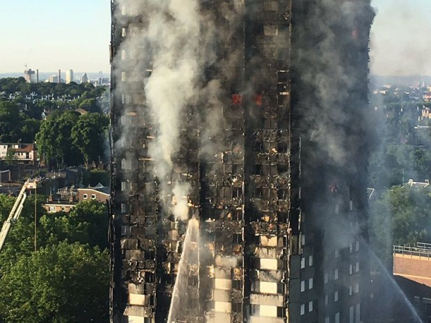 Incendie Grenfell tower Londres