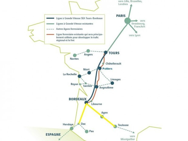 Grand Projet ferroviaire Sud Ouest