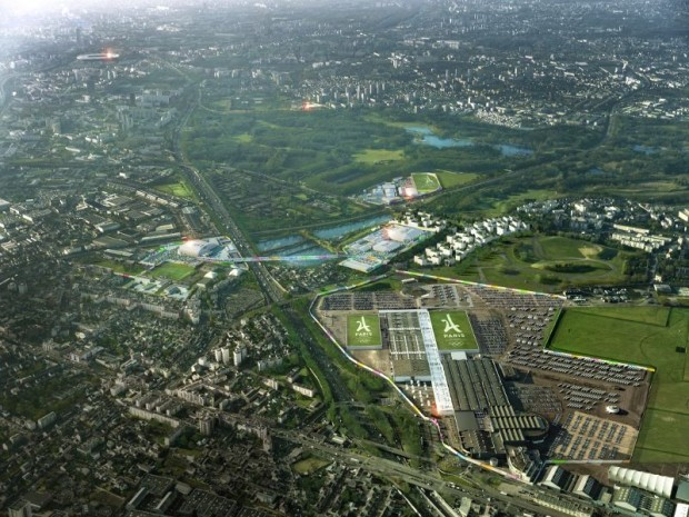 Site JO Paris 2024 : Le Bourget (Seine-Saint-Denis)