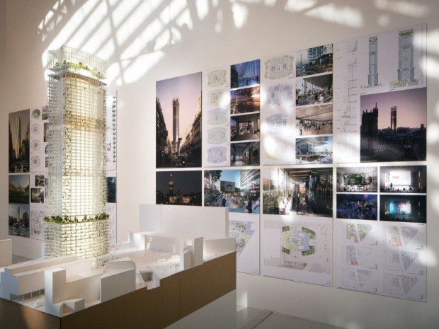 Exposition au Pavillon de l'Arsenal : Métamorphose de la Tour Montparnasse-Consultation internationale