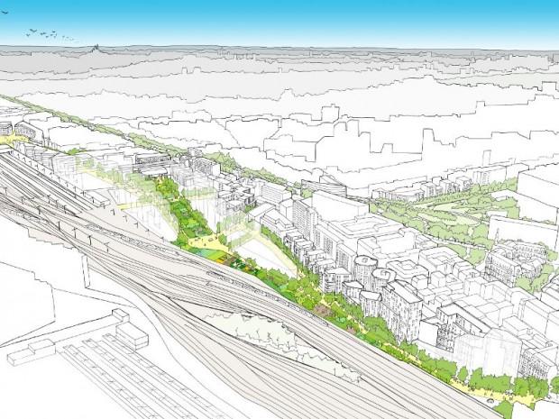 Découverte des 34 projets urbains dévoilés par SNCF Immobilier le 21 septembre 2017 : gare de Lyon Daumesnil, 12ème à Paris