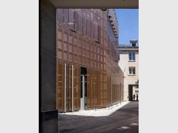 Musée 11 Conti de la Monnaie de Paris rénové par l'architecte Philippe Prost inauguré ce 25 septembre 2017