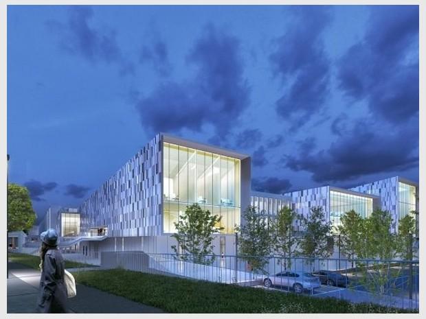 Grand Paris Express : réalisation du centre d'exploitation de Champigny-sur-Marne (Val-de-Marne) imaginé par l'agence Richez et Associés