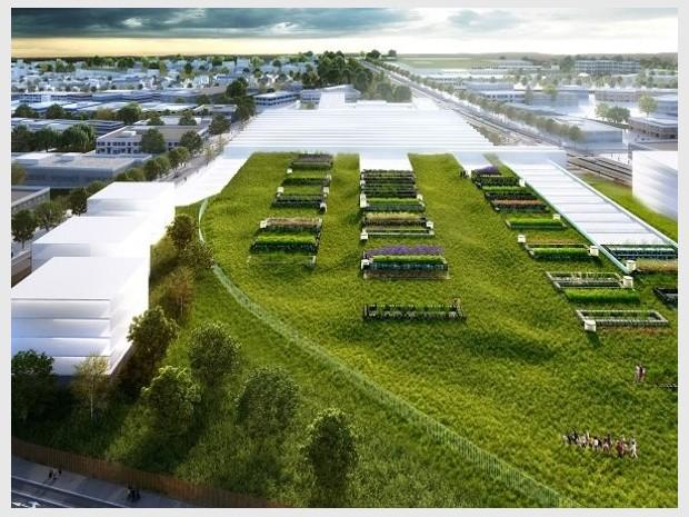 Grand Paris Express : réalisation du centre d'exploitation de Champigny-sur-Marne (Val-de-Marne) imaginé par l'agence Richez Associés