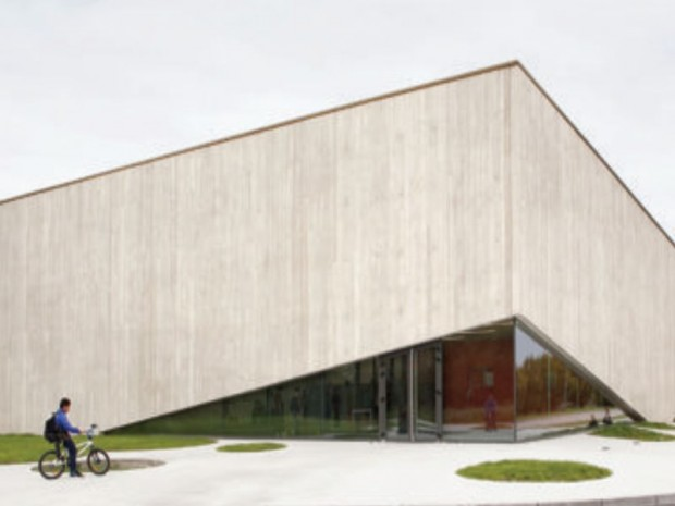 Prix Europe 40 Under 40 Architectes & Designers 2016 :  Gymnase neuves maisons (54)