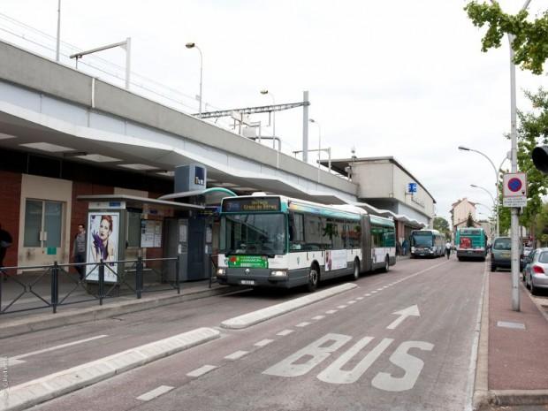 Grand Paris Express : réalisation de la gare Saint-Maur Créteil  (Val-de-Marne) imaginée sur la ligne 15 Sud par l'agence Nicolas Michelin et Associés