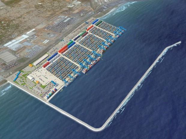 Eiffage vient de signer le contrat pour la réalisation d'une plate-forme portuaire au Ghana