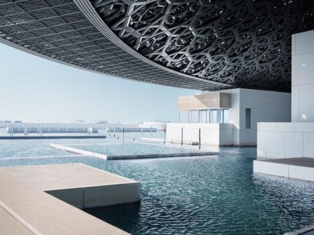 Inauguration le 8 novembre 2017 du musée du Louvre d'Abou Dhabi réalisé par l'architecte Jean Nouvel