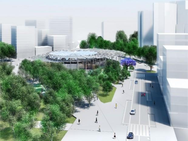 Grand Paris Express : réalisation de la gare Villejuif-Institut-Gustave-Roussy ligne 15 sud imaginée par Dominique Perrault