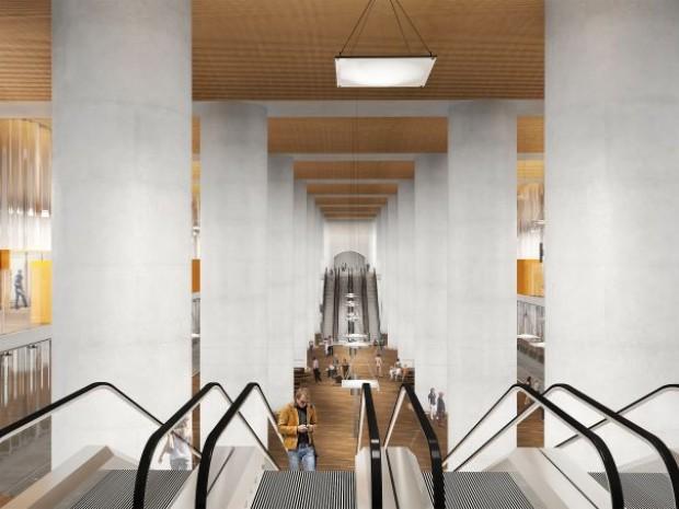 Future gare du CNIT La Défense, projet du RER E