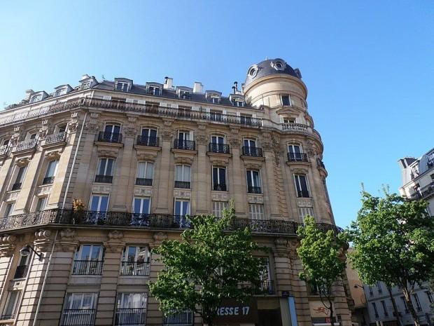 Immeuble haussmannien, Paris