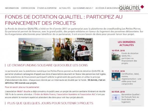 Fonds de dotation Qualitel