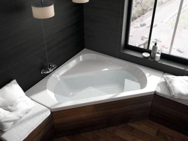 Une baignoire comme un espace détente/repos