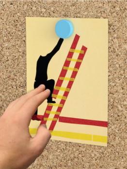 Interrupteur en papier