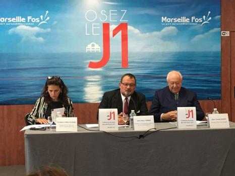 Hall J1 dans le Port de Marseille Fos