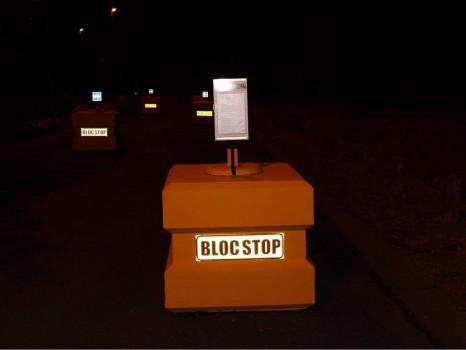 Bloc anti-véhicule bélier
