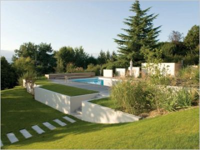 Jardin priv batiactu for Architecte jardin
