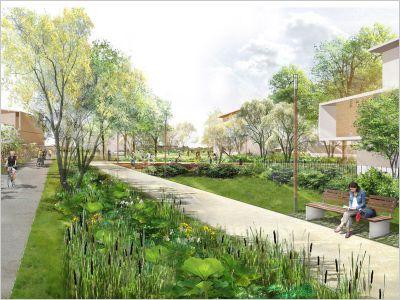 Un nouvel éco-quartier sort de terre près de ...