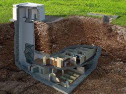 Une maison anti-nucléaire située à 14 mètres ...