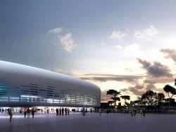 A Bordeaux, l'Arena conçue par Ricciotti ouvre ...
