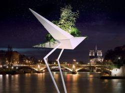 Design et Art végétal: Un albatros géant ...