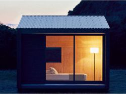 La mini-maison à petit prix selon l'enseigne Muji