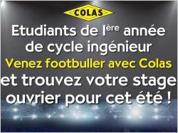 Colas lance un tournoi de football pour ...
