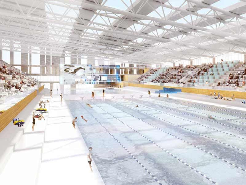 Aubervilliers piscine olympique skyscrapercity for Construction piscine olympique aubervilliers
