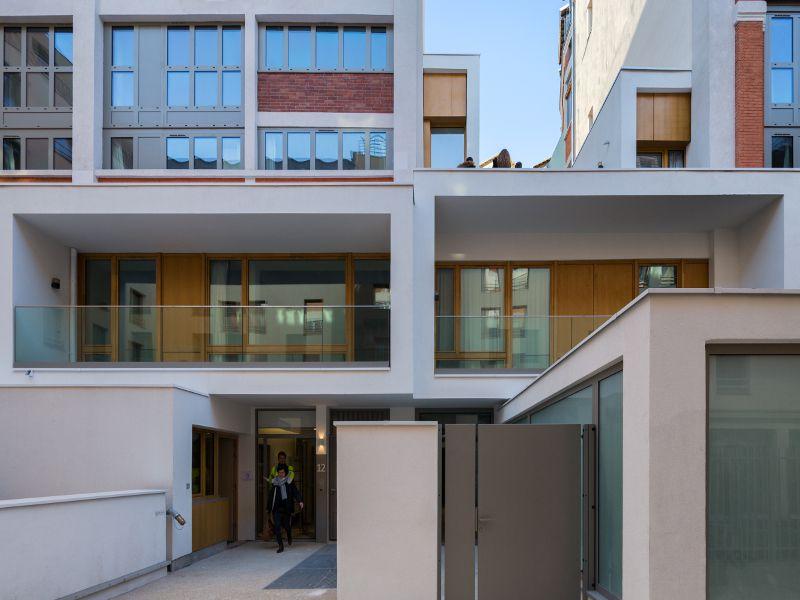 Une laiterie parisienne transformée en logements ...