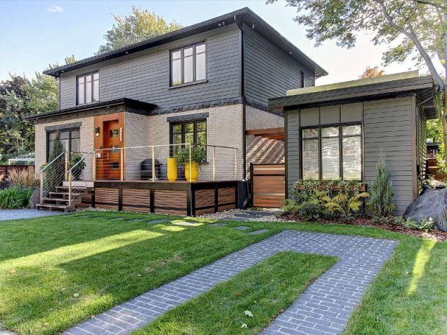Un jardin minéral multiactivités pour une maison ...