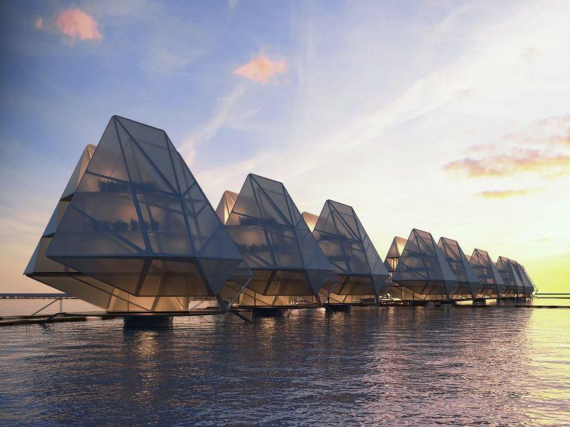 Architecture de la mer et de l'espace: la ...