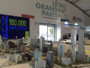 Stand Grand Paris, Mipim 2016