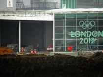 JO-2012: le chantier du stade olympique ...