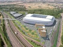Lille: Le grand stade sort de terre ...