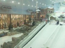 Un complexe de ski indoor à Barcelone