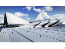 Zaha Hadid signe un centre culturel à Bakou ...