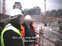 Une caméra cachée sur un chantier pour la ...