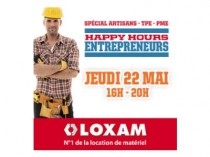 "Loxam lance ses ""Happy Hours"""