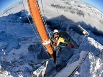 """Un """"Pas dans le vide"""" à près de 3.850 m d'altitude"""