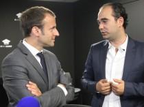 """Emmanuel Macron : """"Le secteur du BTP a beaucoup ..."""